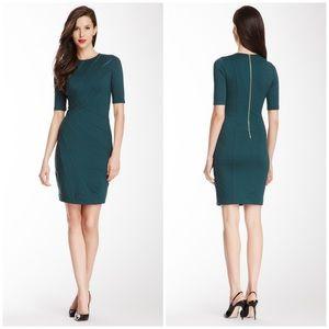 Ted Baker London Corie Silk Trim Dress